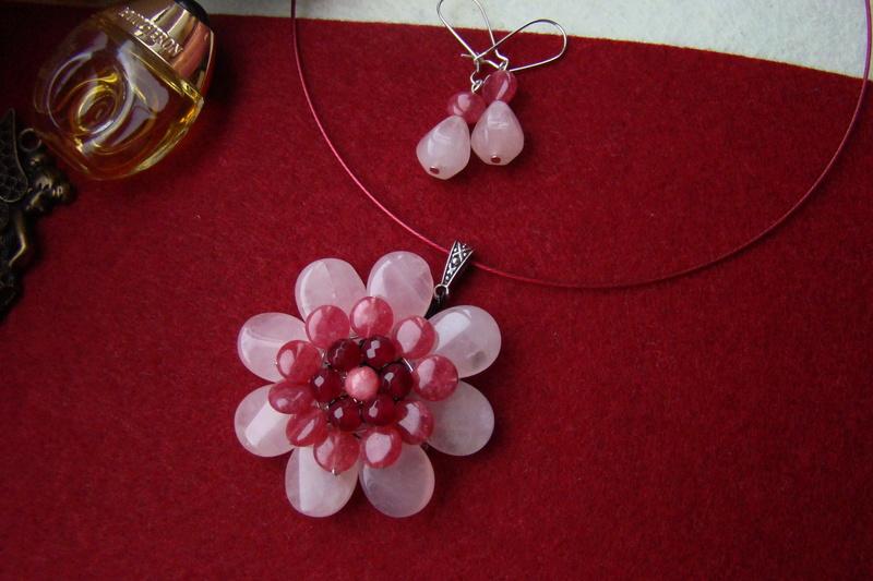 """""""Flori de piatră-Bijoux"""" albumul I-bijuterii artizanale marca Didina Sava - Pagina 2 Colier72"""