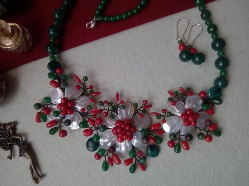 """""""Flori de piatră-Bijoux"""" albumul I-bijuterii artizanale marca Didina Sava - Pagina 2 Colier88"""