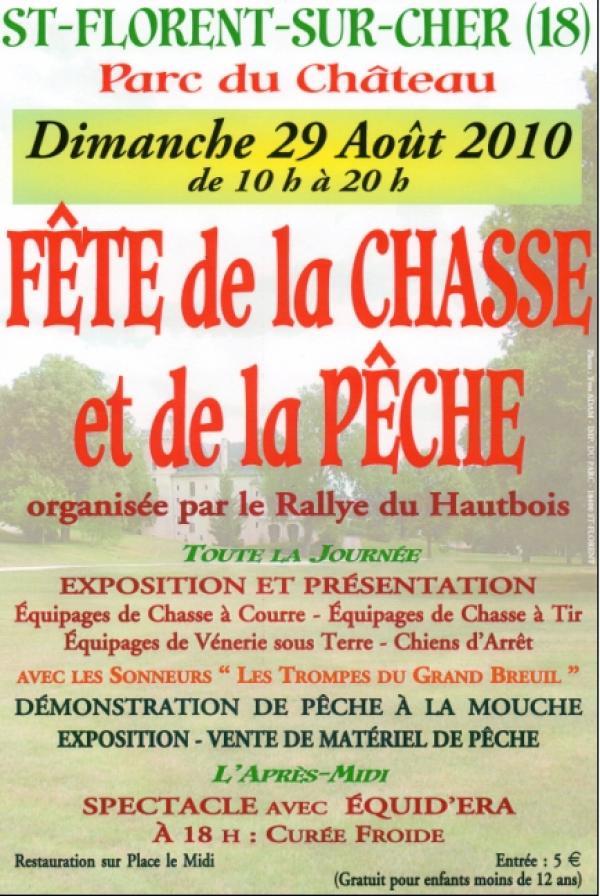 Fête Chasse et Pêche le 29 août 2010-St Florent sur Cher 18 10080810