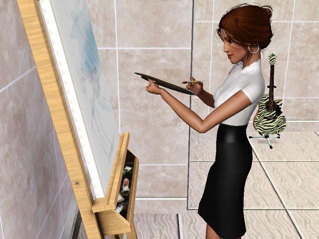 [Concours clos] Miss Simette 2011 : qui sera notre nouvelle reine de beauté ? - Page 4 Peintu11