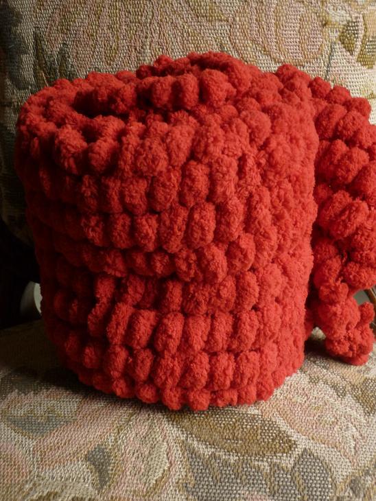 Echarpes et diverses choses tricotées main  P1040214