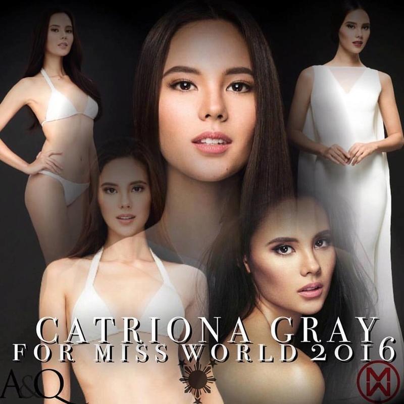 Catriona Elisa Gray (PHILIPPINES WORLD 2016 & UNIVERSE 2018) - Page 2 14900311