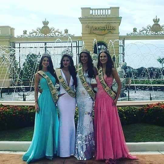 MISS EARTH 2016 and her court 14956310