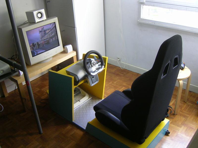 Sim racing pc  , dans une borne monaco gp reconstituée  12-pre10
