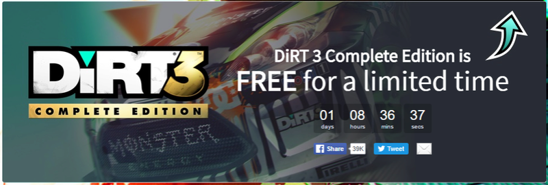 DIRT3 gratuit sur Humble bundle Dirt310