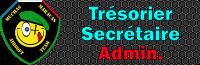 Trésorier / Secrétaire / Admin.