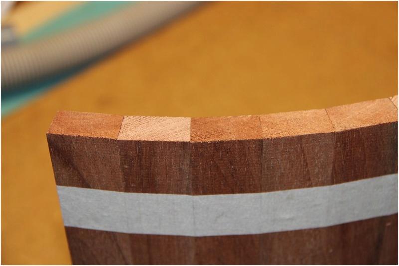 [Fabrication] Un habillage de cheminée en cèdre Img_1011