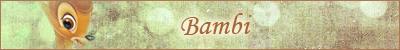 Les longs-métrages 2D des studios Disney Bambi10