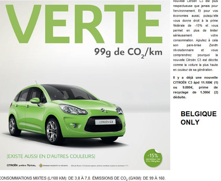 [ACTUALITE] Les promotions de Citroën - Page 2 Promo10