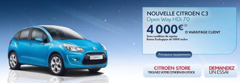 [ACTUALITE] Les promotions de Citroën - Page 2 Promo110