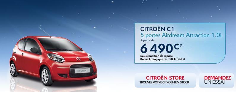 [ACTUALITE] Les promotions de Citroën - Page 2 Promo210