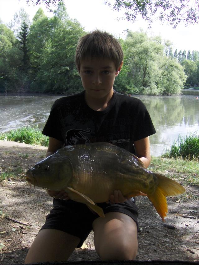 Premier poisson avec ACEBAITS fruity/Crab Ace310