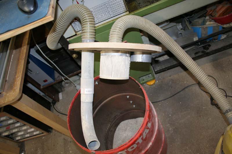 Adaptation aspirateur à copeaux Aspi_310