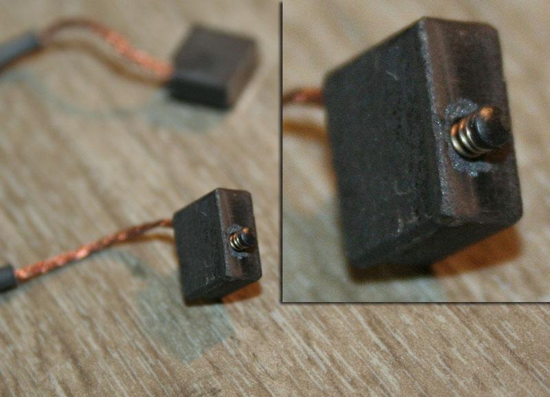 Electrobroche Kress FME - sécurité charbons HS Balais10