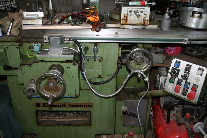 Fraiseuse: Petits travaux sur ma Z1-C Cablem12