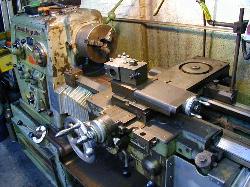 tournage , matière première et fabrication appareil tournage sphérique Hb410