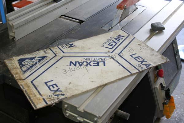 Support pour CNc Lx110