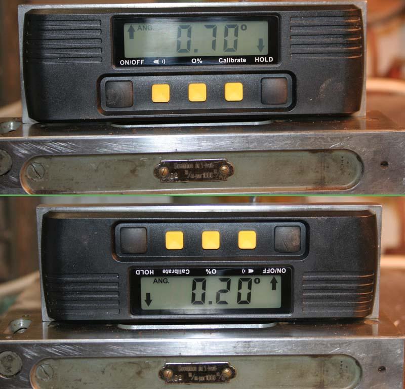 Inclinomètre/niveau digital Niv210