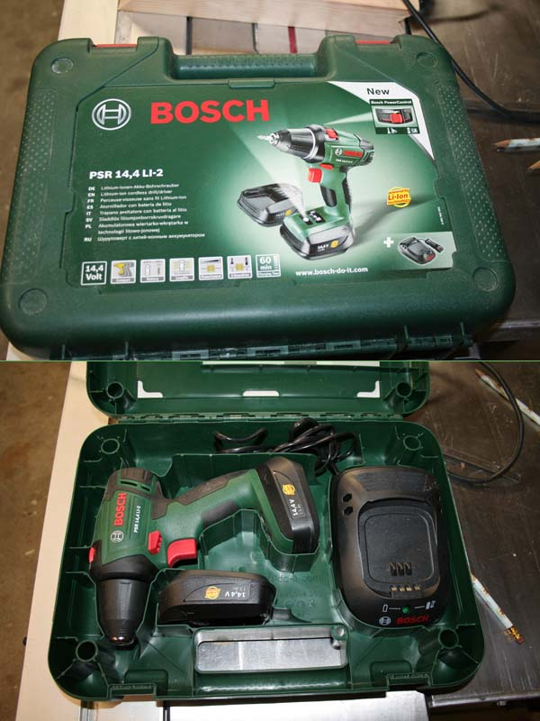 Perceuse/visseuse sans fil Bosch PSR 14.4 LI-2 Packag10