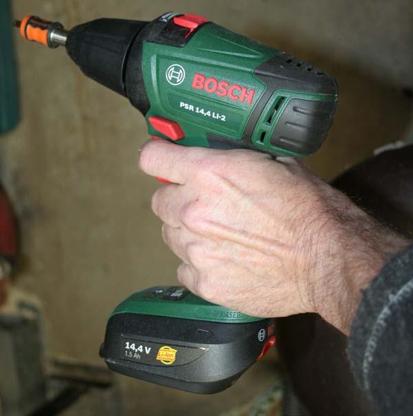 Perceuse/visseuse sans fil Bosch PSR 14.4 LI-2 Taille10