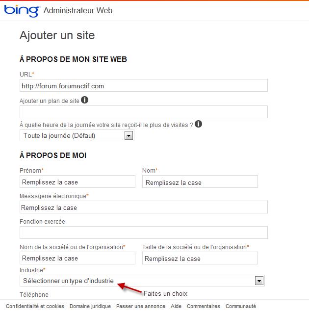 Optimiser le référencement de votre forum via Bing Webmaster Bing210