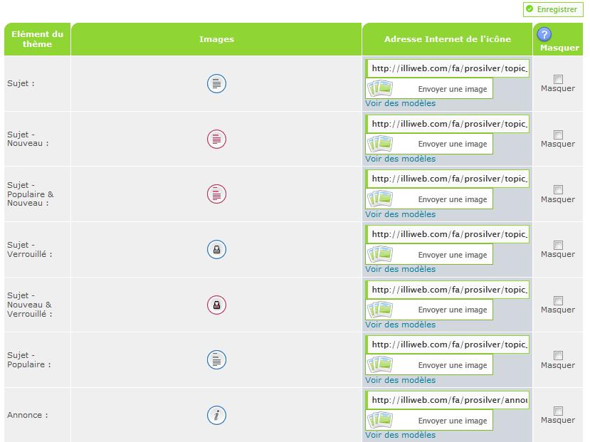 phpbb3 - Personnaliser les icônes catégories et forums (phpBB3) Icone910