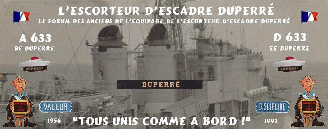 L'Escorteur d'Escadre Duperré D633