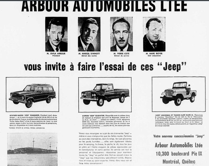 Vieilles publicités AMC au Québec - Page 2 1966_041