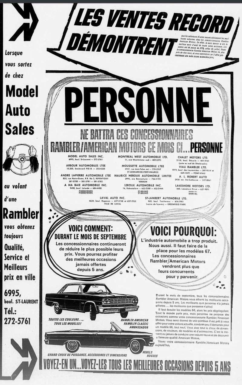Vieilles publicités AMC au Québec - Page 2 1966_042
