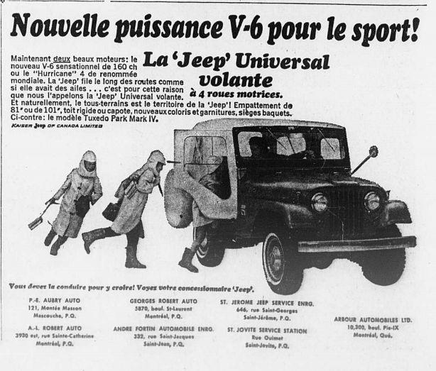 Vieilles publicités AMC au Québec - Page 2 1966_072