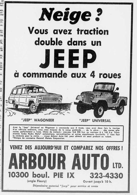 Vieilles publicités AMC au Québec - Page 2 1966_101