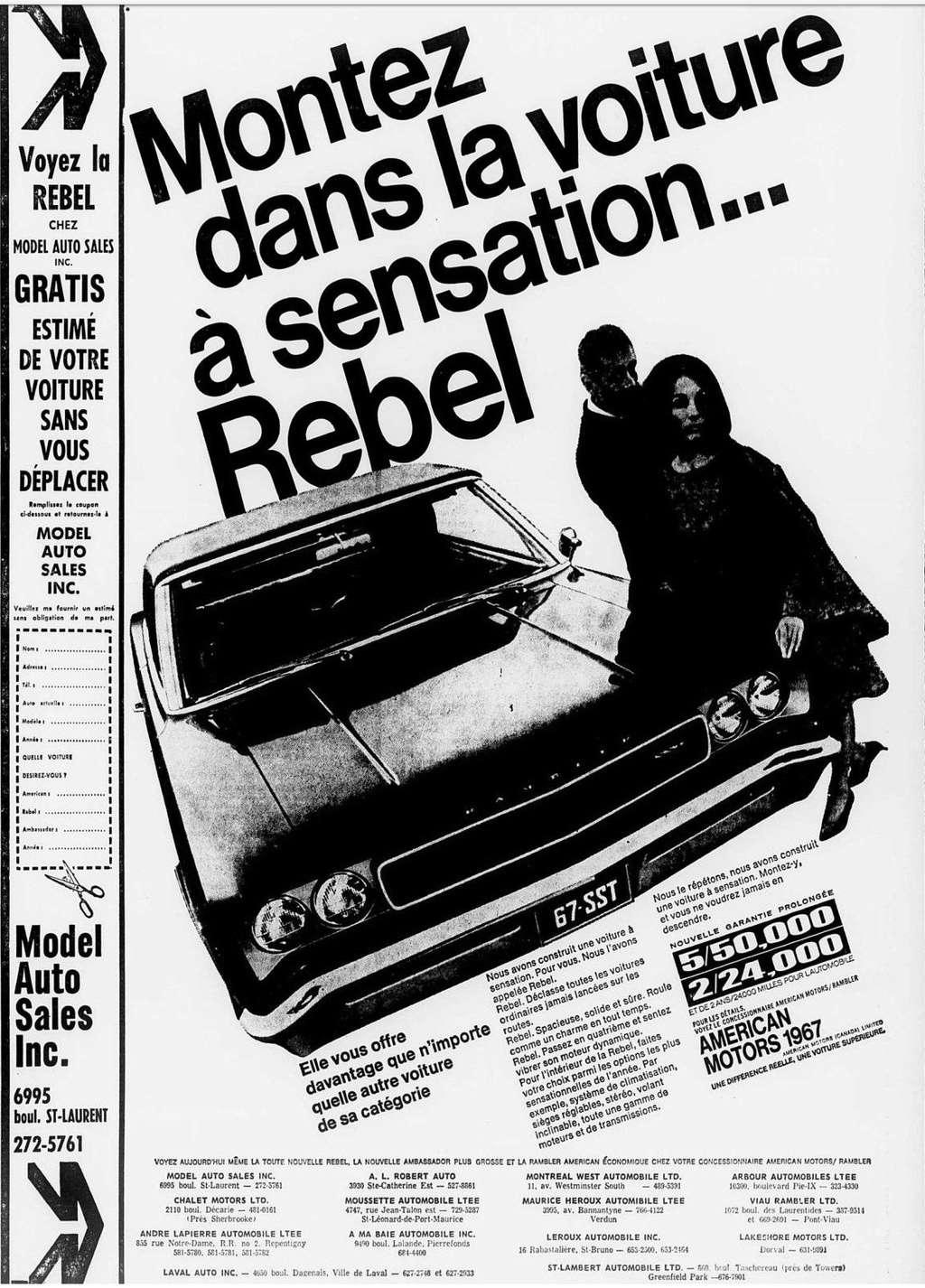 Vieilles publicités AMC au Québec - Page 2 1966_102