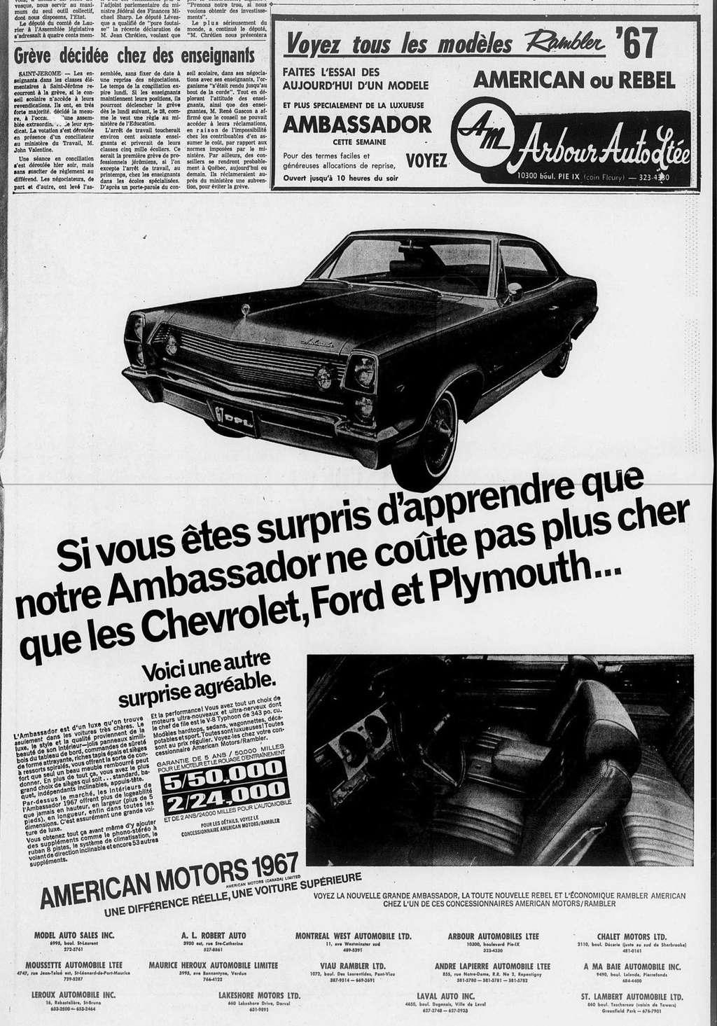 Vieilles publicités AMC au Québec - Page 2 1966_103