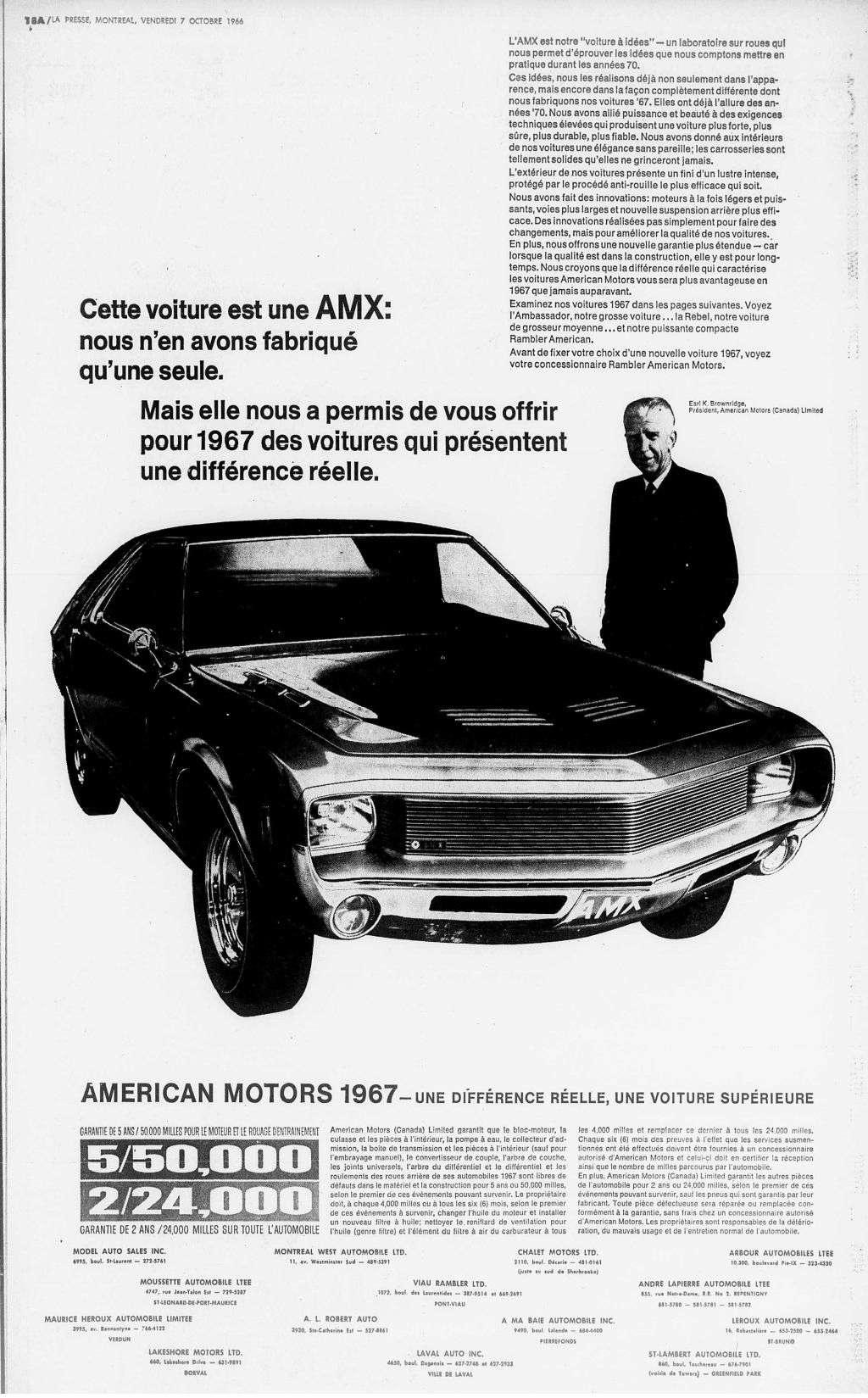 Vieilles publicités AMC au Québec - Page 2 1966_111