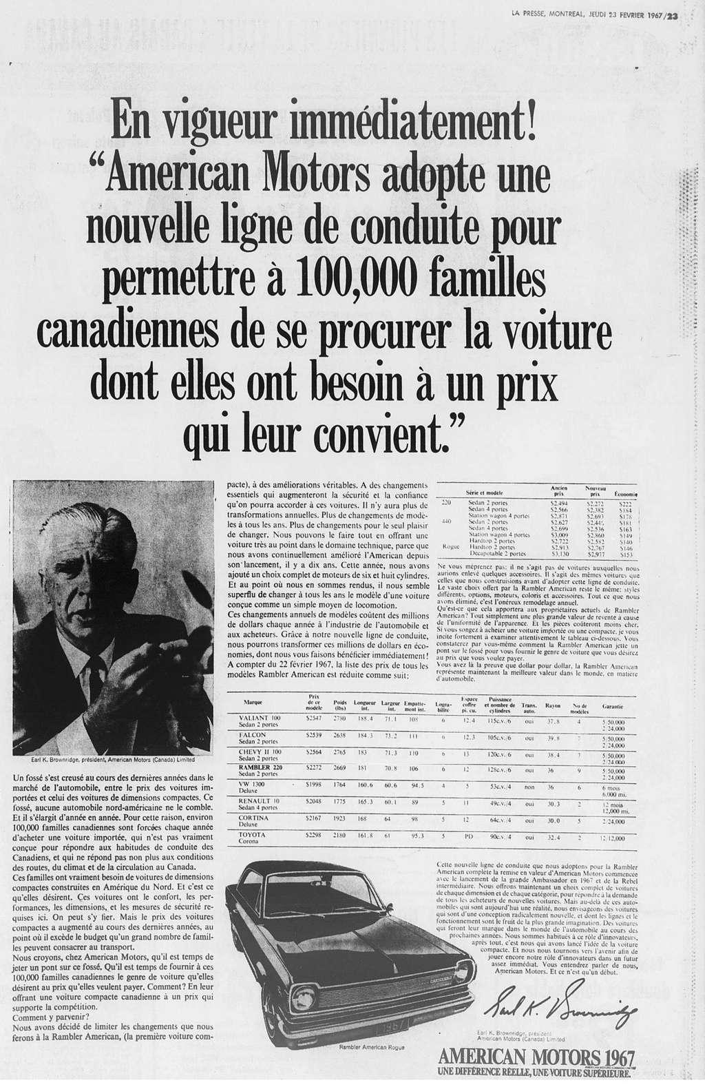 Vieilles publicités AMC au Québec - Page 2 1967_076