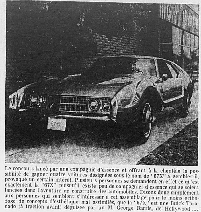 Toronado 67X , création Barris - Page 2 1967_117