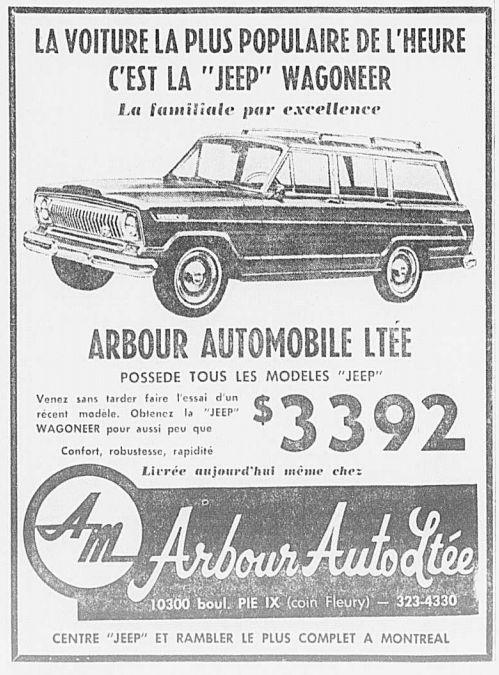 Vieilles publicités AMC au Québec - Page 2 1967_124