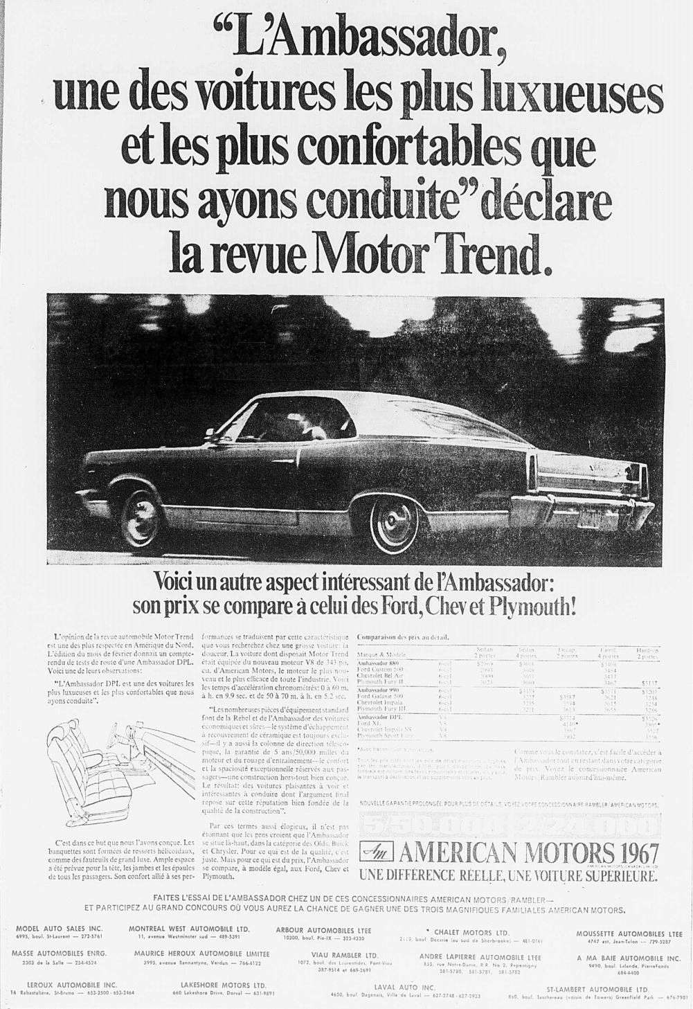 Vieilles publicités AMC au Québec - Page 2 1967_125