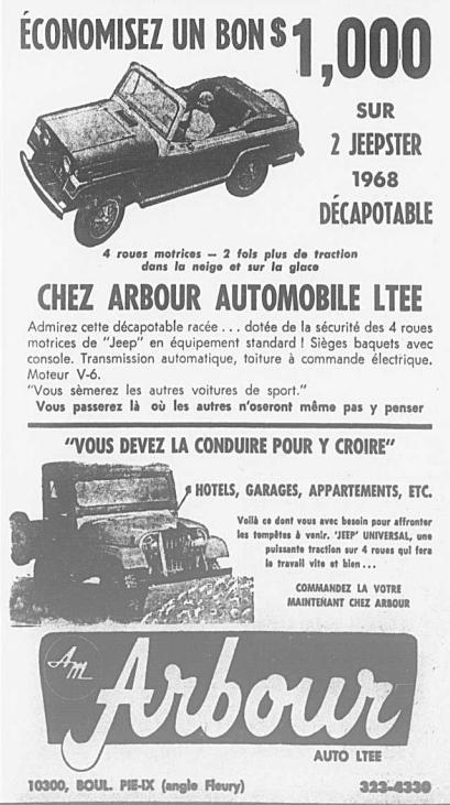 Vieilles publicités AMC au Québec - Page 2 1968_013
