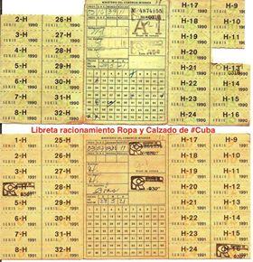 50 AÑOS DE LA LIBRETA DE ABASTECIMIENTOS Libret10
