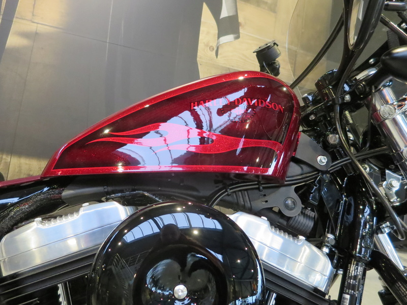 Forty Eight 2017 Hard Candy Hot Rod Red Flake - Page 2 Img_1118