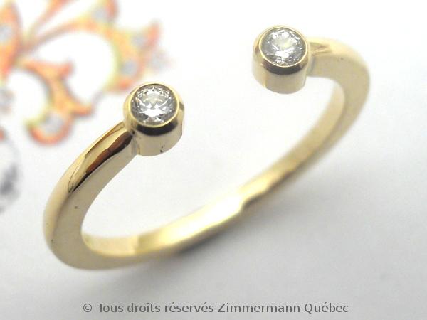 Bague or deux diamants en serti clos Dscn0111
