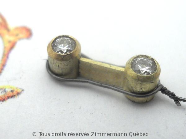 Bague or deux diamants en serti clos Dscn0113