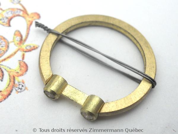 Bague or deux diamants en serti clos Dscn0114