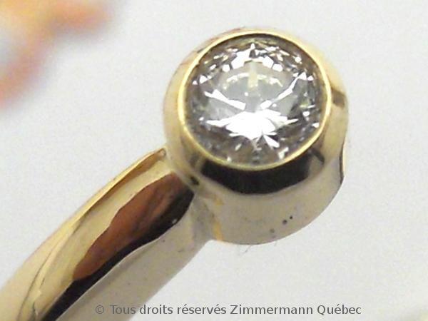 Bague or deux diamants en serti clos Dscn0116