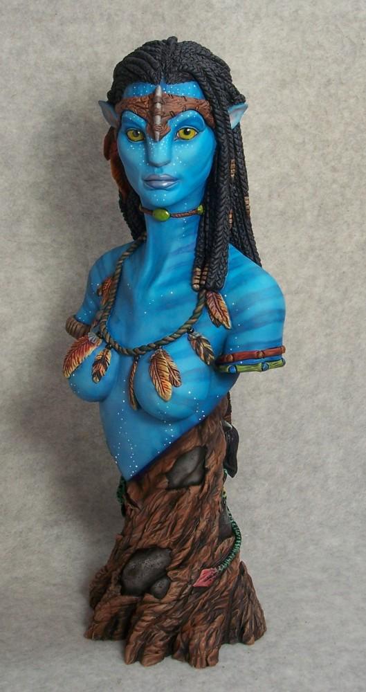 buste Neytiri Avatar - Page 7 Navi110