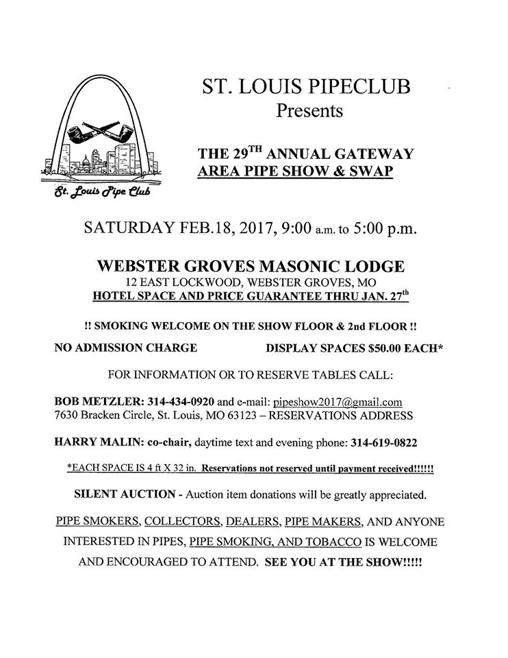 St. Louis Pipe Show 15800711