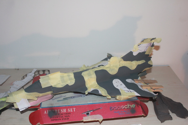 Mirage III E 1/32 revell - Page 6 Img_2034