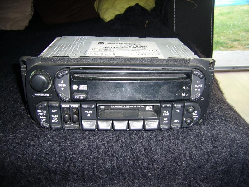 [VENDU] autoradio d'origine grand cherokee wj + chargeur 10 cd Ssa50120