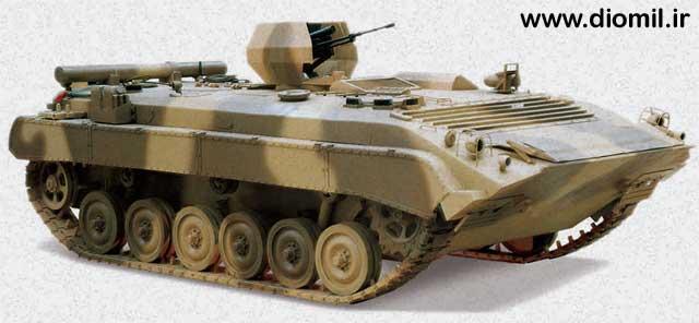 l'industrie militaire iranienne Boraqe10